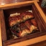 蕎麦酒房 天 - うなぎセイロ