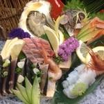 居酒屋 季の - 料理写真:お造り盛り合わせ(七種盛り)