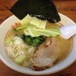 松福 - ラーメンハーフ500円