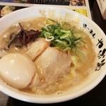 41061800 - 濃厚鶏こつ味玉麺+麺大盛