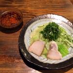 つけ麺本舗 辛部 - つけ麺  並  辛さ×30〜(*^◯^*)♪