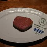 41062906 - 淡路牛いちぼのステーキ 肉以外何もないという潔さ(^_^)
