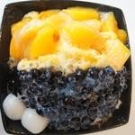 ピンピンホァ - 黒豆マンゴー冰 864円