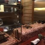 馳走のかぜ - ☆中川一辺陶さんの焼き台&土鍋ごはんを炊くおくどさん☆