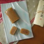 むら雲堂本舗 - 料理写真:白小豆羊羹