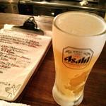 ソリレス - 生ビール 390円