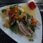PENTHOUSE - 愛媛県産真鯛のアクアパッツァ