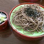 猿飛山荘 - ざる蕎麦