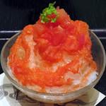 IORI - 上賀茂のまるごとトマト氷(アップ、2015年6月)