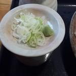 手打ち蕎麦 神楽坂 - 薬味
