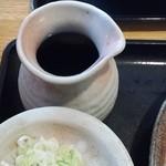 手打ち蕎麦 神楽坂 - つゆ徳利