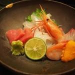 京極寿司 - お造り盛り合わせ