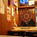 JAGA - 店内の一部です 壁にはビールのポスターがいっぱい