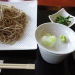 蕎壽庵 - もりそば(大盛り)