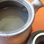 蕎壽庵 - 濃厚そば湯
