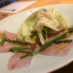 赤坂ジパング - 白身魚のカルパッチョ エスニックソース