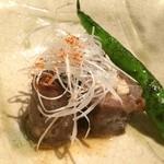 赤坂ジパング - 松茸の和牛巻き コースで食べたけど足りなかったので追加その2