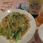 中華料理 彩香 - 台湾風の焼きそばなんだとさ。