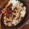 もんてく - 料理写真:焼きチーズカレー ウィンナートッピング ¥800