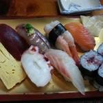 千福寿司 - 料理写真:ランチの握り¥980(ランチメニューのみ税込)