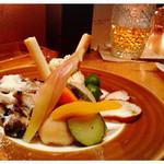サクラバル - 前菜盛り合わせ 980円