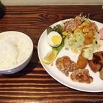 サンカフェ - 日替わりランチ820円