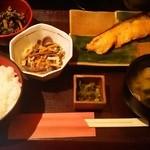 麹蔵 - 鮭の西京焼き定食