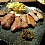 福島西屋 - 白菜浅漬け&南蛮味噌 仙台牛タンと同じ!
