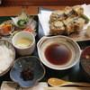 嘉 - 料理写真:茄子の鶏はさみ揚げ