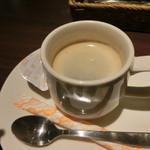 あんぷらっと - セットのコーヒー
