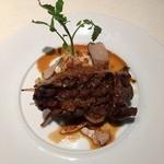 ビストロ ア ラ ドゥマンド - ディナー:シェフおまかせコース・肉料理