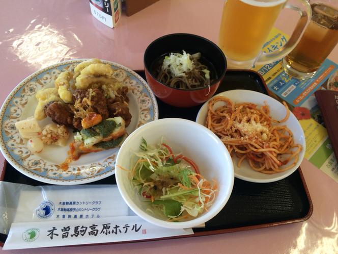 木曽駒宇山カントリークラブ レストラン