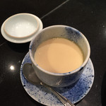 魚力 - セットの茶碗蒸し