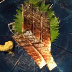魚力 - 炙りトロ鯖@669円