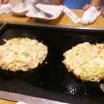おこのみ亭四季 - 料理写真:自分で焼くスタイル