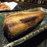 漁菜献舗 鳥新 - 2015.8)肉厚でふわふわのトロホッケ