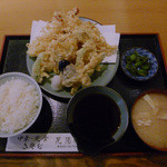 晃陽軒 - 天ぷら定食