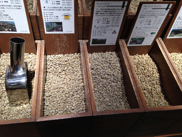 やなか珈琲店 エキュート赤羽店 - 【2015年8月】自家焙煎で豆販売