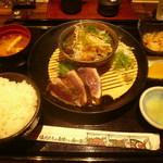 41088517 - 焼き切り塩・タレたたき定食1252円