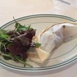 41090803 - 豚肩ロース肉の紙包み焼き 柚子味噌風味。