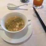 中国料理 皇家龍鳳 - スープ。