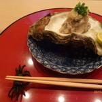 Gionasadaya - 愛媛県産岩牡蠣のおろし和え