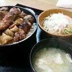 小金家 - 焼き鳥丼定食