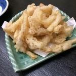 あきない(春夏冬) - 芽吹きピーナッツの天ぷら?