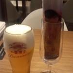 41093150 - 生ビール+お通し