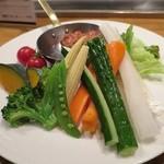 鉄燻CHOI - 燻製味噌マヨ野菜スティック