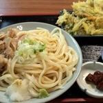 麺処 天めん - 肉天ぶっかけうどん(並)650円也