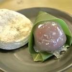 御菓子司かさ國 - 焼き餅と、お団子