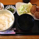 かきや NO KAKIYA - かきフライ定食:850円