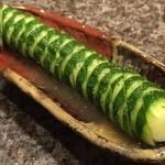 仙台牛焼肉 バリバリ - きゅうりまるまる一本